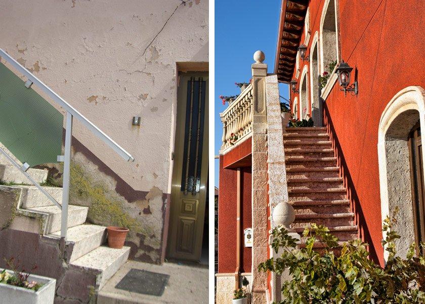 Escaleras exteriores de casas estupendo jardin escalera for Modelos de escaleras exteriores